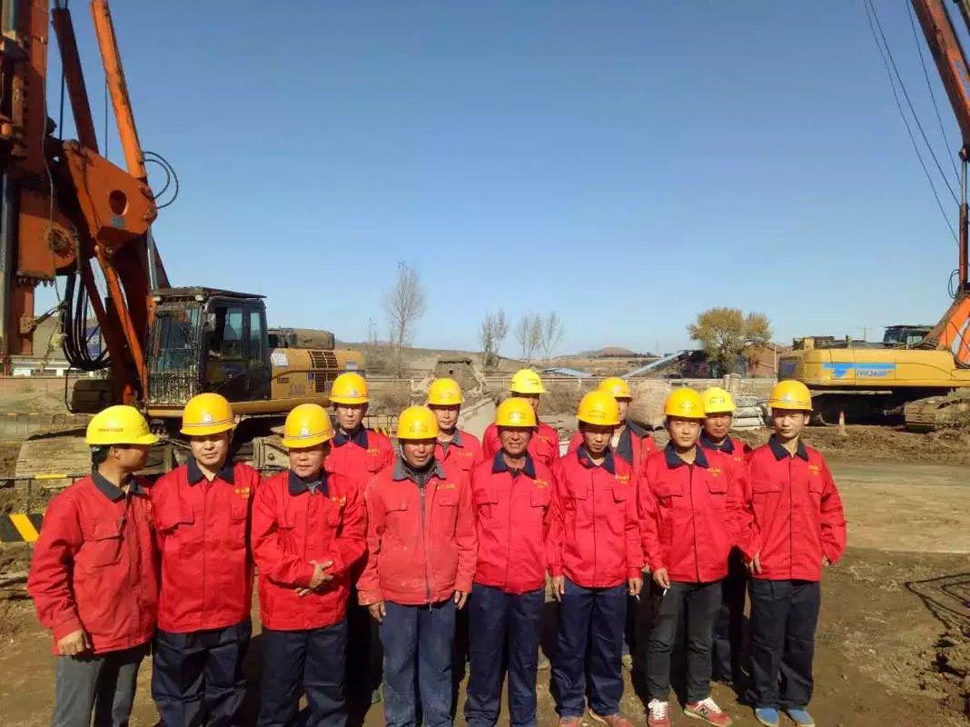安徽金元基础工程有限公司桩基三队在建平工地