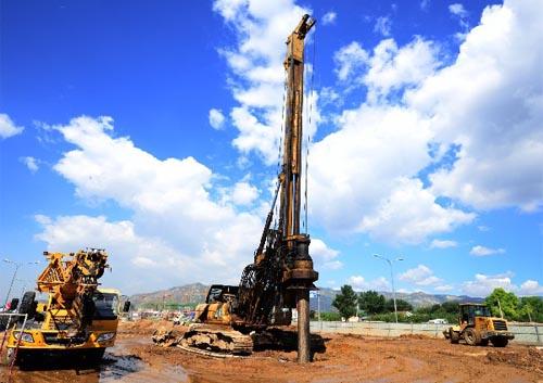 旋挖钻机施工