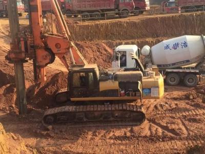 六安南山郡小区桩基工程